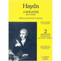 Haydn, Josep Sonata en Lab Mayor HOB.XVI/46