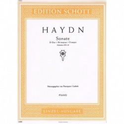 Haydn, Josep Sonata en Re...