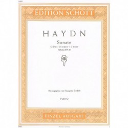 Haydn, Josep Sonata en Do Mayor HOB.XVI/35