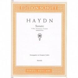 Haydn, Josep Sonata en Fa...