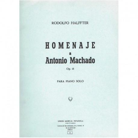 Halffter, Ro Homenaje a Antonio Machado Op.13