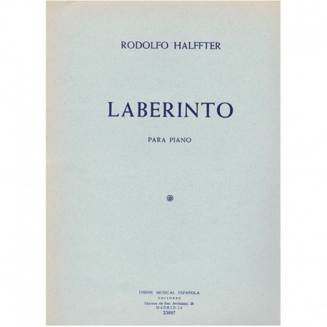Halffter, Ro Laberinto