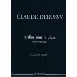 Debussy, Cla Jardines Bajo...