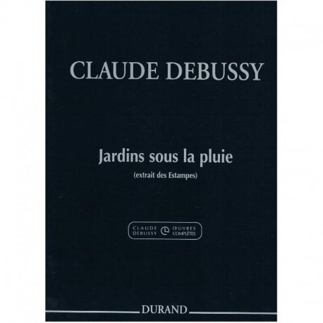 Debussy, Cla Jardines Bajo la Lluvia