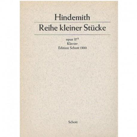 Hindemith Reihe Kleiner Stucke Op.37