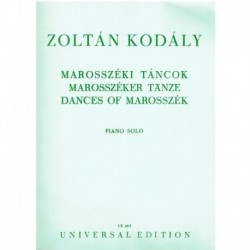 Kodaly, Zolt Dances of...