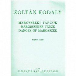 Kodaly, Zolt Dances of...