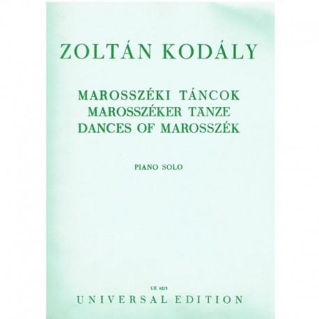 Kodaly, Zolt Dances of Marosszek