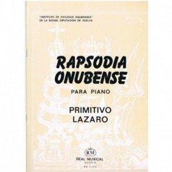 Lázaro, Prim Rapsodia Onubense
