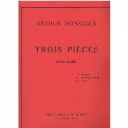 Honegger, Ar Tres Piezas