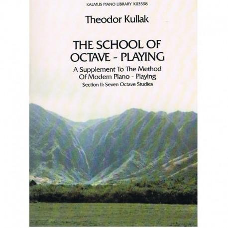 Kullak La Escuela de las Octavas Vol.2 (7 Estudios)
