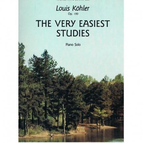 Köhler, Loui The Very Easiest Studies Op.190