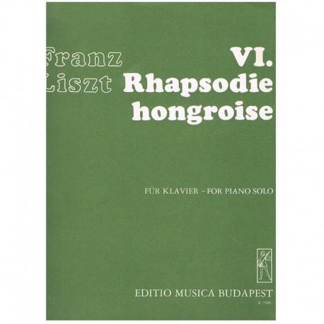 Liszt, Franz VI. Rapsodia Húngara