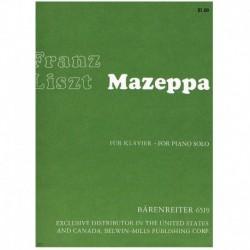 Liszt, Franz Mazeppa