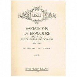 Liszt, Franz Variaciones de...