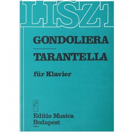 Liszt, Franz Gondoliera/Tarantella