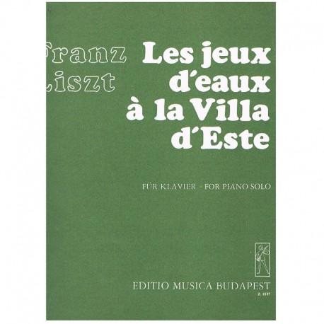 Liszt, Franz Juegos de Agua en la Villa del Este