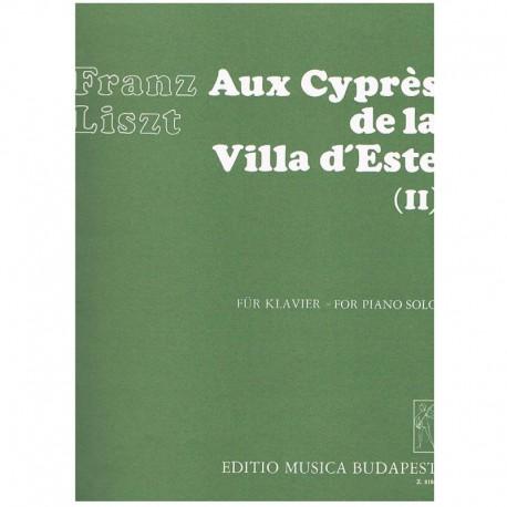 Liszt, Franz Los Cipreses de la Villa del Este Vol.2