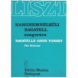 Liszt, Franz Bagatella sin...