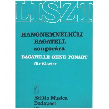 Liszt, Franz Bagatella sin Tonalidad