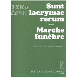 Liszt, Franz Sunt Lacrymae...