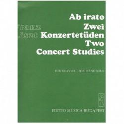 Liszt, Franz Ab Irato. 2...