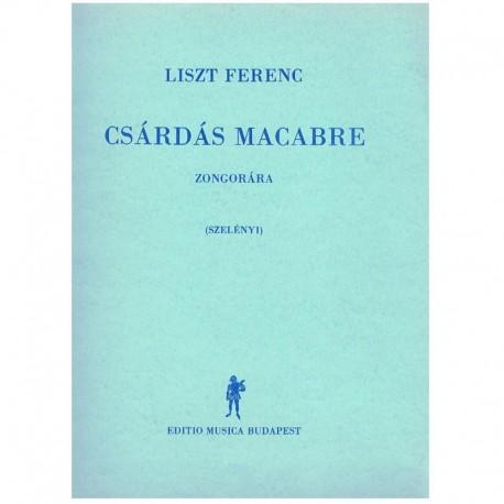 Liszt, Franz Danzas Macabras
