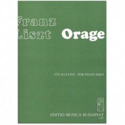 Liszt, Franz Orage