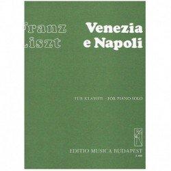Liszt, Franz Venezia e Napoli