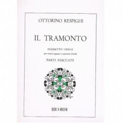 Respighi, Ot IL Tramonto (Mezzo Soprano y Cuarteto de Cuerda)