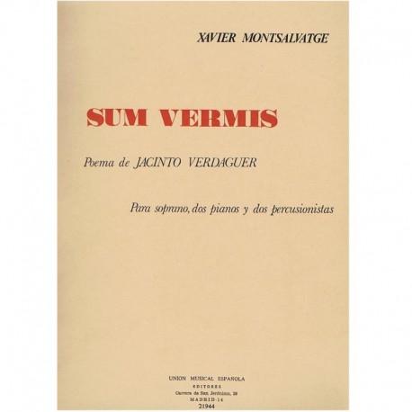 Montsalvatge Sum Vermis (Soprano, 2 Pianos, 2 Percusionistas)