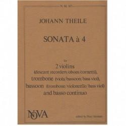 Theile. Sonata a 4 (2...