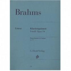 Brahms, Joha Quinteto en Fa...