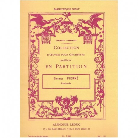 Pierné, G. Pastorale (Clarinete, Flauta, Trompa, Fagot, Oboe)