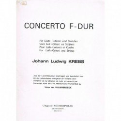 Krebs, Johan Concierto en...