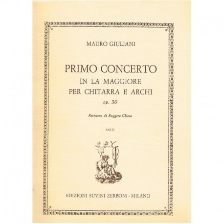 Giuliani, Ma Primo Concerto In La Maggiore Op.30 (Guitarra y Cuarteto de Cuer