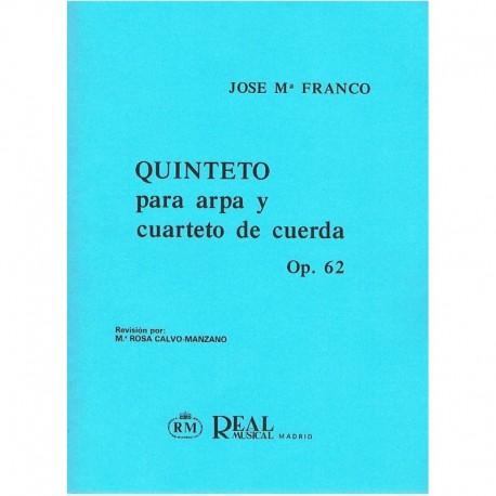 Franco, Jose Quinteto Op.62 (Arpa y Cuarteto de Cuerda)