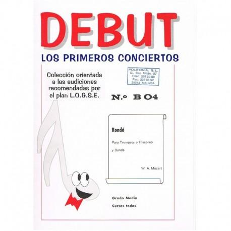 Mozart. Rondo (Trompeta/Fliscorno y Banda). Teruel Vidal