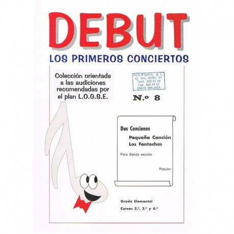 Popular. Pequeña Canción/Los Fantoches (Banda Escolar). Teruel Vidal