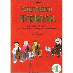 Nomar, Z. Conjunto Instrumental. Iniciación al Violoncello Vol.1 (Dúos, Tr