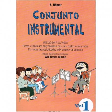 Nomar. Conjunto Instrumental. Iniciación a la Viola Vo.1 (2,3,4,5 Voces). Real Musical