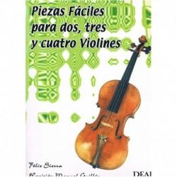 Sierra. Piezas Fáciles para 2, 3 y 4 Violines