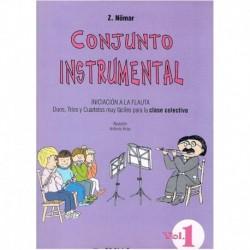 Nomar, Z. Conjunto Instrumental. Iniciación a la Flauta Vol.1 (Dúos, Tríos