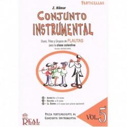Nomar, Z. Conjunto Instrumental. Dúos, Tríos y Grupos de Flautas Vol.5 (Pa