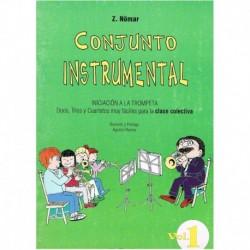 Nomar, Z. Conjunto Instrumental. Iniciacion a la Trompeta Vol.1 (Dúos, Trí