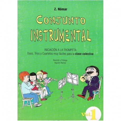 Nomar. Conjunto Instrumental. Iniciacion a la Trompeta Vol.1 (Dúos, Tríos y Cuartetos). Real Musical
