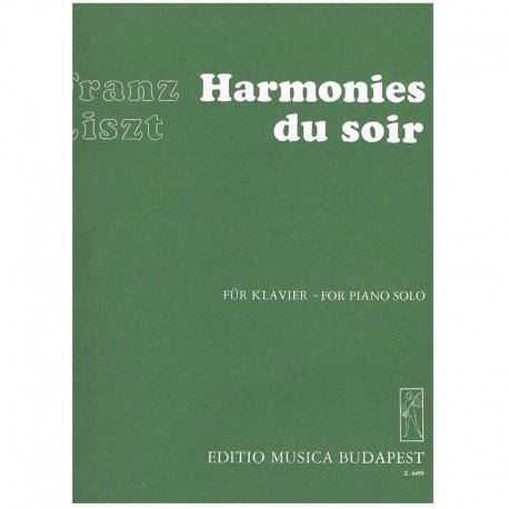 Liszt, Franz Harmonies du Soir