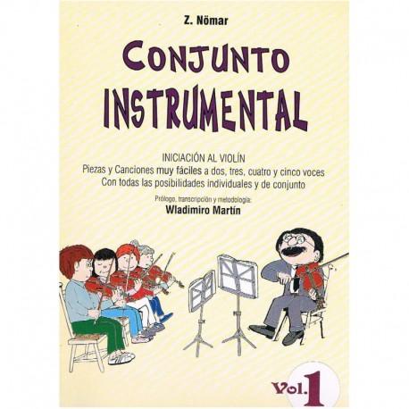 Nomar, Z. Conjunto Instrumental. Iniciación al Violín Vol.1 (2,3,4 y 5 Vio