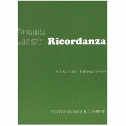 Liszt, Franz Ricordanza
