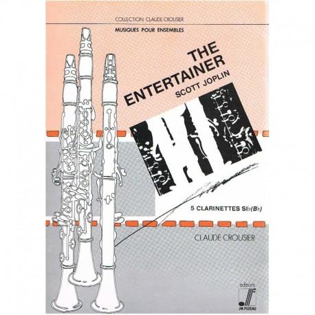 Joplin, Scot The Entertainer (5 Clarinetes)